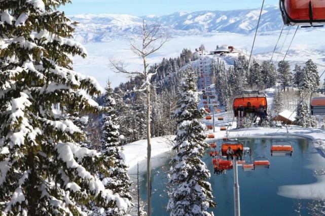 S'il faut en croire l'agence américaine Ski.com, c'est... (Photo The New York Times)