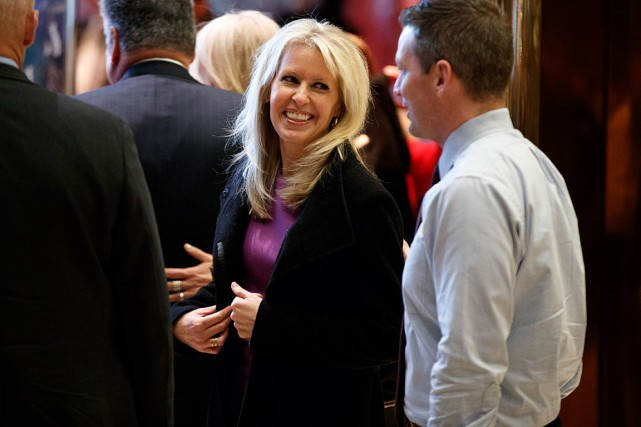 Monica Crowley, une auteure et commentatrice conservatrice sur... (Archives AP, Evan Vucci)