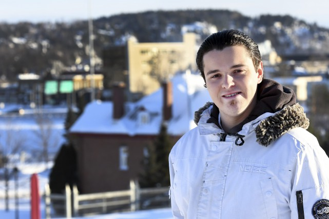 À 20 ans, Mathieu Thibeault souhaite faire le... (Le Progrès-Dimanche, Rocket Lavoie)