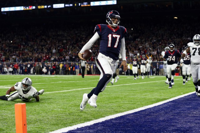 Osweiler, qui avait été laissé au bout du... (Photo USA Today Sports)