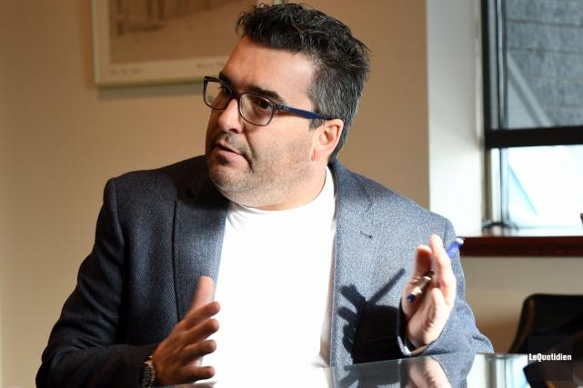 Francois Tremblay, conseiller municipal et président de l'arrondissement... (Archives Le Quotidien, Rocket Lavoie)