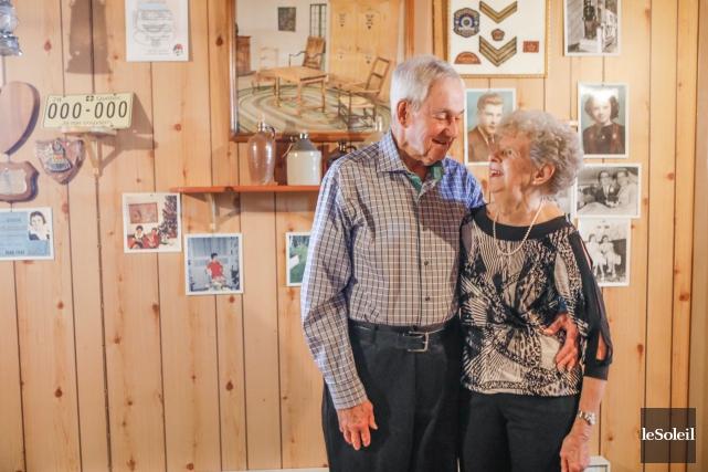 Guy Alain et Monique Allen sont mariés depuis... (Le Soleil, Caroline Grégoire)