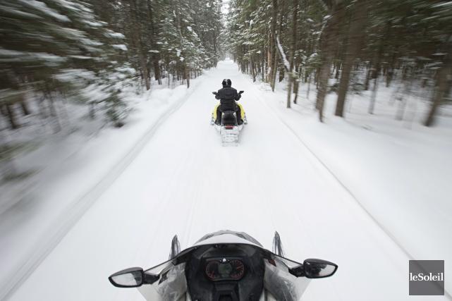 La Fédération des clubs de motoneigistes du Québec... (Photothèque Le Soleil)