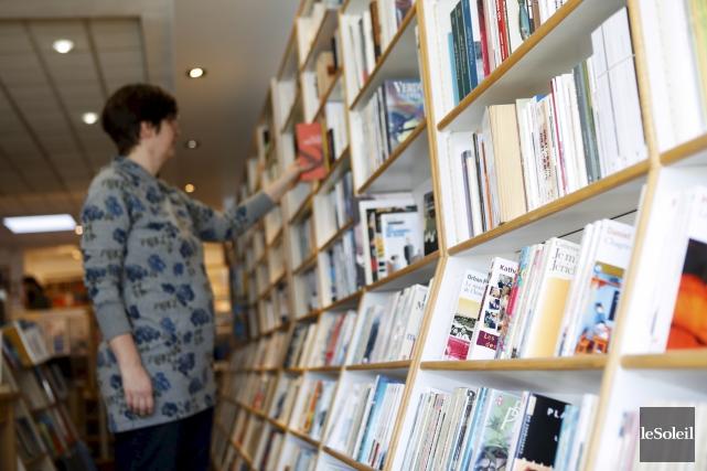 «Être libraire est à la mode. Il y... (Le Soleil, Caroline Grégoire)
