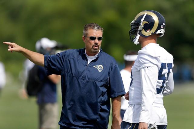 Gregg Williamsa occupé le rôle de coordonnateur défensif... (Photo Jeff Roberson, archives AP)