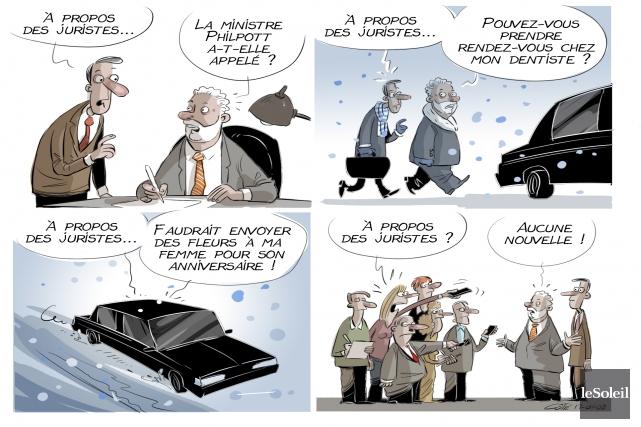 La caricature du jour... (André-Philippe Côté, Le Soleil)