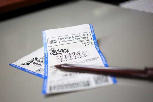 Encore une autre fois, un ou deux gagnants recevront 60 millions$ de Lotto... (Julie Catudal)