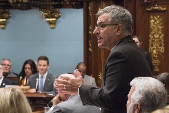 Le ministre des Relations canadiennes, Jean-Marc Fournier... (La Presse canadienne, Jacques Boissinot)