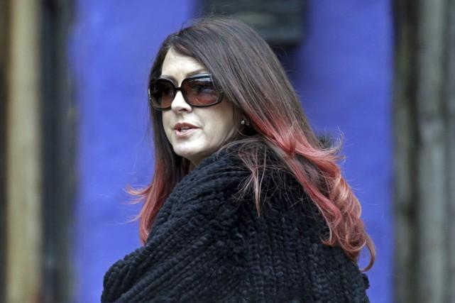 La demi-soeur de Carrie Fisher, Joely Fisher, arrive... (AP)
