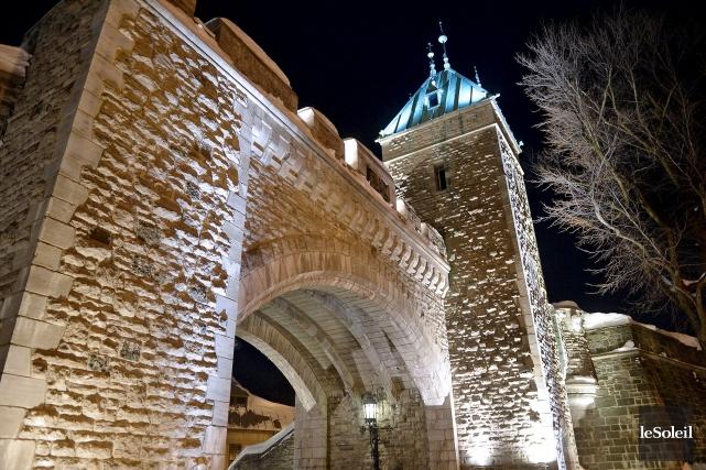 Indémodables, les fortifications de Québec arrivent toujours en... (Le Soleil, Erick Labbé)