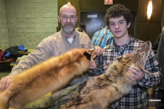 Le vice-président de l'Association des trappeurs du Saguenay-Lac-Saint-Jean,... (Photo Le Quotidien, Michel Tremblay)