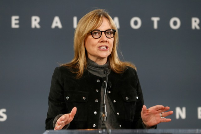 Mary Barra affirme que la production de GM a... (PHOTO REUTERS)