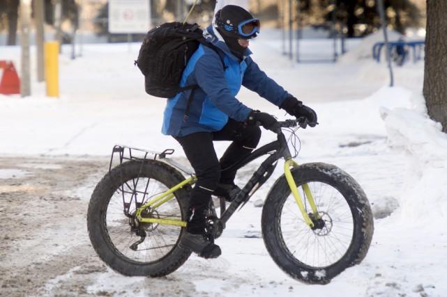 Guy Rouleau continue son périple cycliste jusqu'a Windsor...