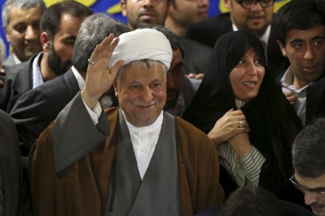 L'ancien président iranien Akbar Hachémi Rafsandjani avait réussi... (AP, Ebrahim Noroozi)