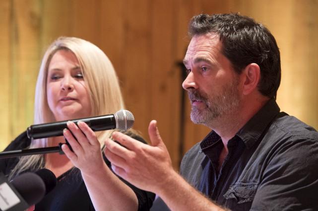 Lévis Guay et Nathalie Simard, les propriétaires de... (Stéphane Lessard)