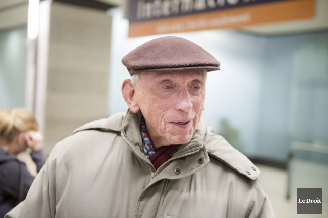 Larry Hershorn dit avoir été beaucoup plus nerveux... (Martin Roy, Le Droit)
