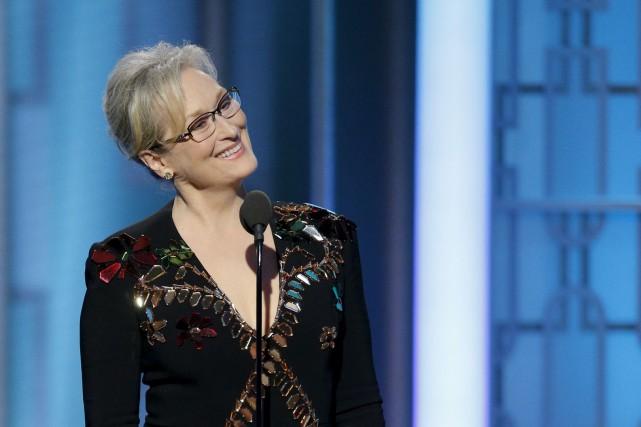 Meryl Streep a reçu le prix Cecil B.... (AP, Paul Drinkwater)