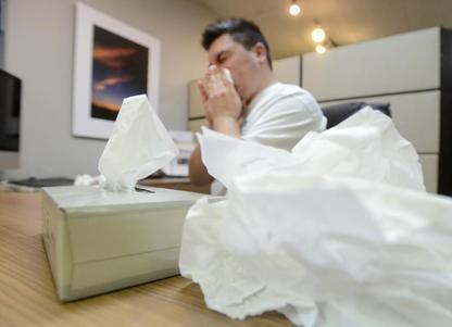 Le virus de la grippe a visiblement profité des partys de fins d'année pour...