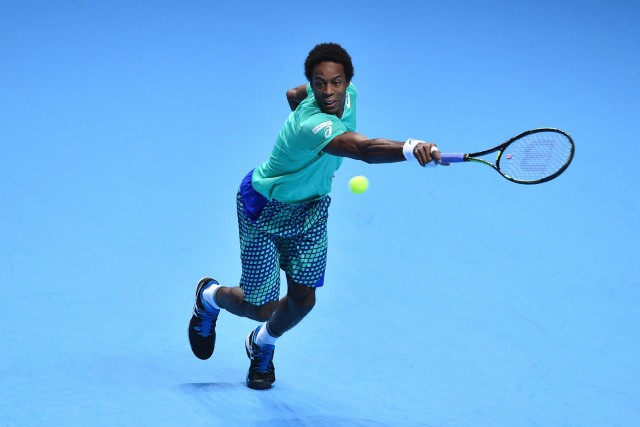 Gaël Monfils... (Photo Glyn Kirk, AFP)
