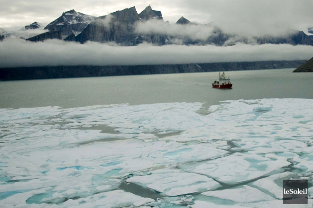 Depuis 2003, l'Amundsena séjourné 1800 jours en mer,... (Photothèque Le Soleil)