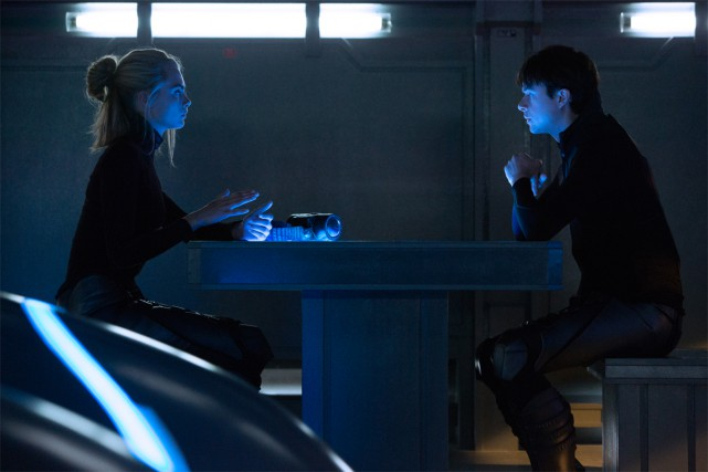 Dane DeHaan et Cara Delevignge dans Valerian and... (Photo fournie par TF1 FILMS PRODUCTION)