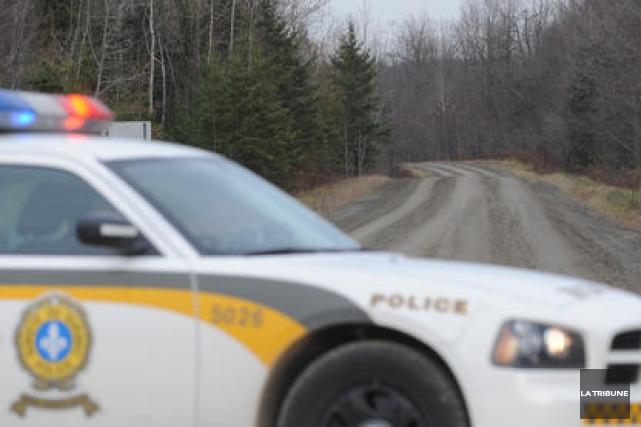 Deux hommes ont été grièvement blessés lorsque leur véhicule a embouti le flanc... (Photo archives La Tribune)