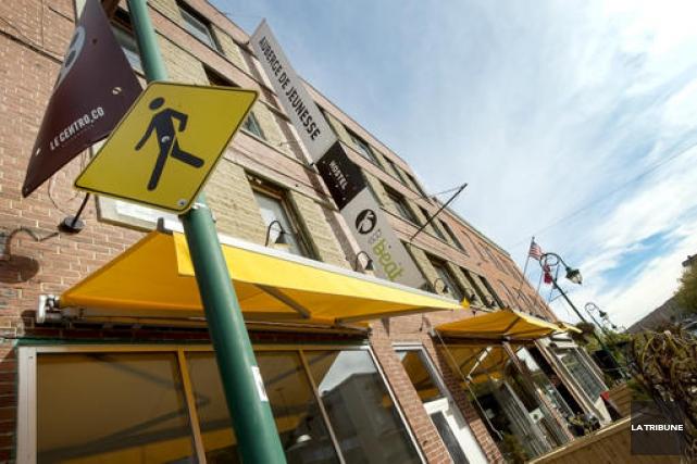 Le bâtiment ayant abrité l'auberge de jeunesse Ecobeat a trouvé preneur. La... (Archives La Tribune)
