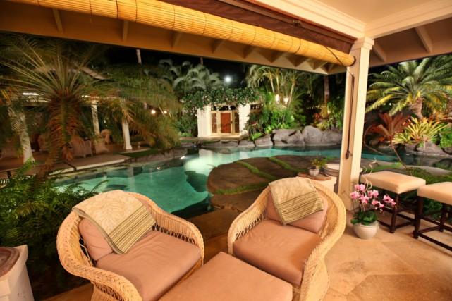 La somptueuse demeure de Plantation Estate, à Hawaii,... (PHOTO TIRÉE DU SITE TOPTENREALESTATEDEALS.COM)