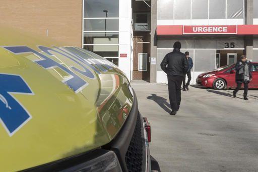 Les salles d'urgence de la région débordent. La situation est principalement... (Spectre média, Frédéric Côté)