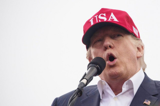 Donal Trump a déposé au moins 72 marques... (Photo Jim Watson, AFP)