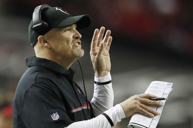 Les Falcons n'ont pas gagné en éliminatoires depuis... (PHOTO AP)