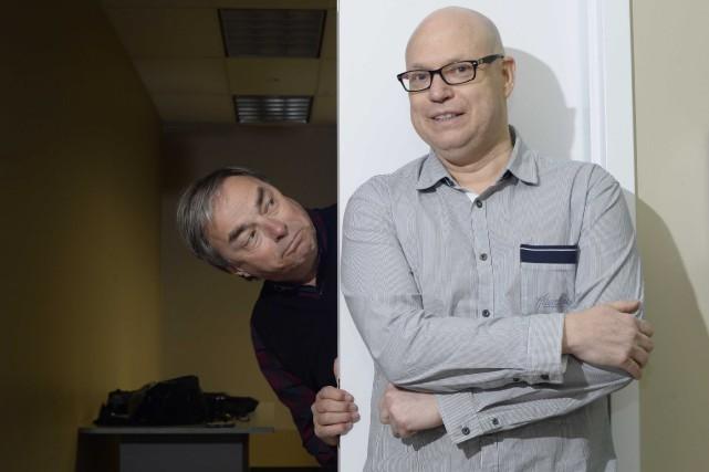 L'amitié liant l'humoriste bien connu François Léveillée, à... (Sylvain Mayer, Le Nouvelliste)