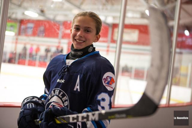 Juliette Leroux a été sélectionnée sur l'équipe d'étoiles... (Olivier Croteau, Le Nouvelliste)