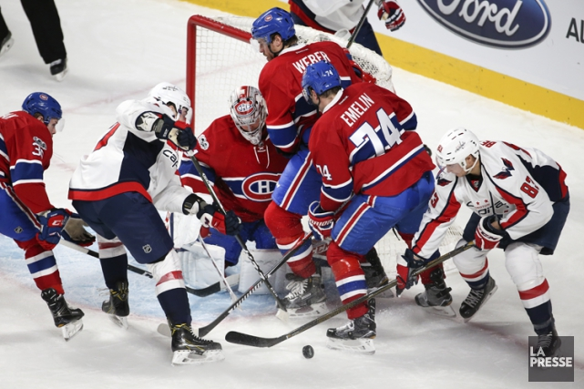 Relisez le clavardage du match entre le Canadien et les Capitals de Washington... (PHOTO ROBERT SKINNER, LA PRESSE)