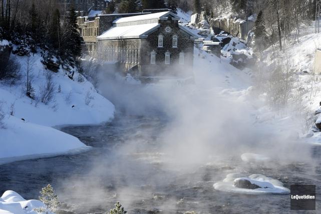 À Saguenay, la température ressentie a chuté jusqu'à... (Photo Le Quotidien, Jeannot Lévesque)