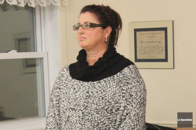 La mairesse Sonya Auclair.... (Archives Le Nouvelliste)
