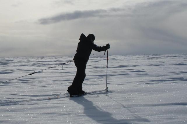 Les expériences à ski de Sébastien Lapierre au... (fournie par Sébastien Lapierre)