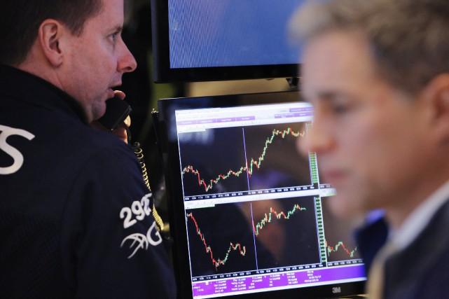 «On dirait que les investisseurs prennent un peu... (PHOTO ARCHIVES REUTERS)