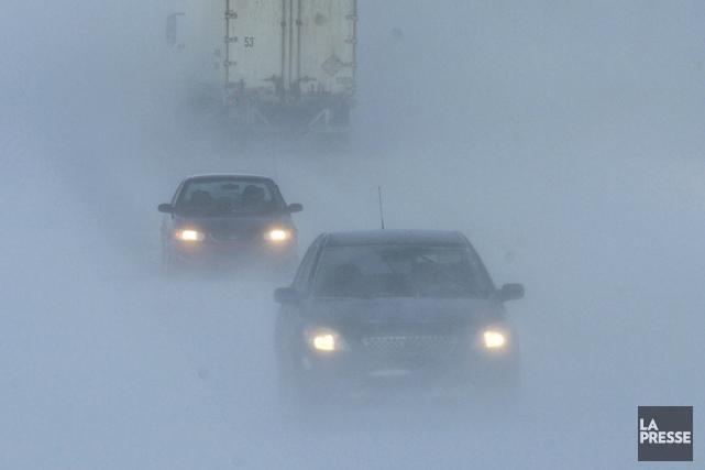 Il y aura accumulation rapide de neige, prévient... (Bernard Brault, archives La Presse)