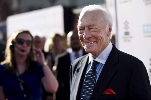 Christopher Plummer à Los Angeles, en mars 2015... (AP,  Chris Pizzell)