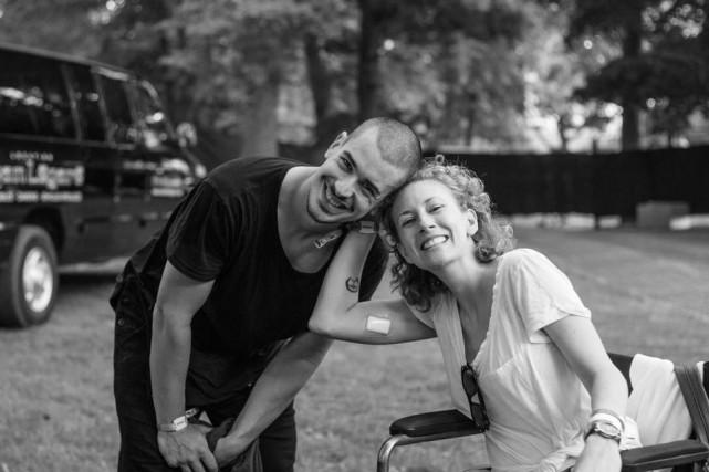 Koriass et Andréanne Sasseville... (Photo tirée du compte Facebook de Koriass)