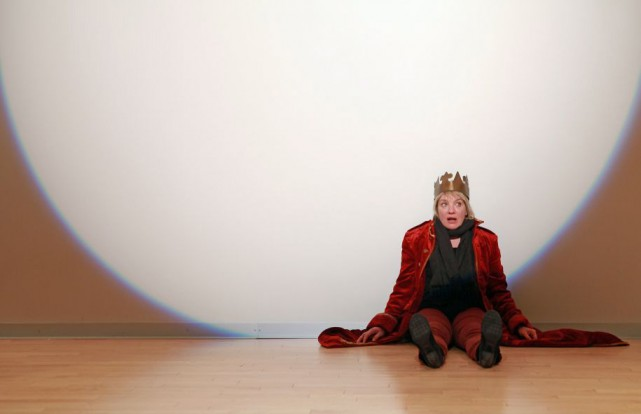Dominique Quesnel dans Auditions, Me, Myself and I... (photo Marc-André Goulet, fournie par la production)