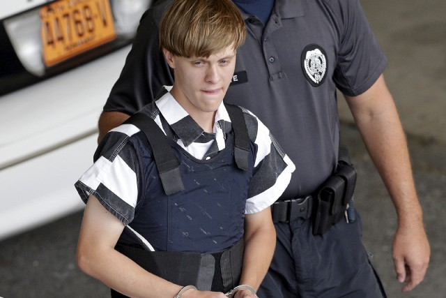 Dylann Roof... (PHOTO AP)