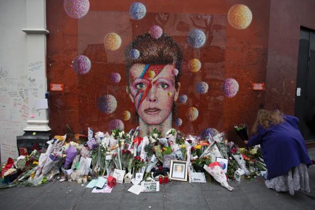 Des fans de Brixton, la ville natale de... (AFP, Daniel Leal-Olivas)