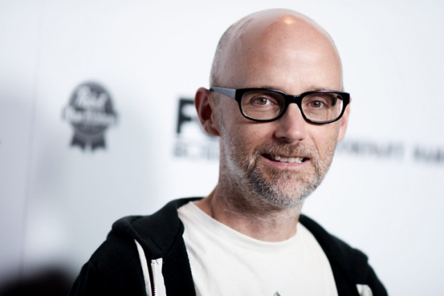 Moby a qualifié Donald Trump de «raciste et misogyne»,... (PHOTO AP)