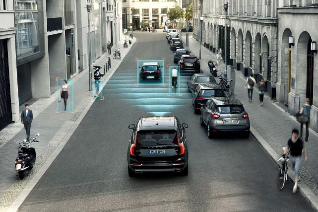 D'abord offerts sur des voitures plus luxueuses, les... (fournie par Volvo)