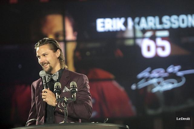 Erik Karlsson participera à son quatrième match des... (Etienne Ranger, Le Droit)