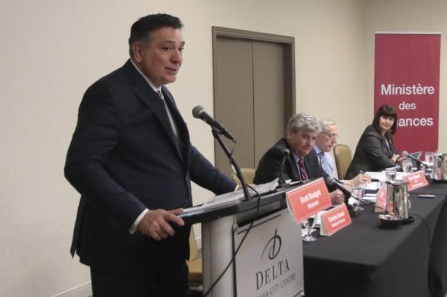 Le ministre des Finances de l'Ontario, Charles Sousa,... (Etienne Ranger, Le Droit)