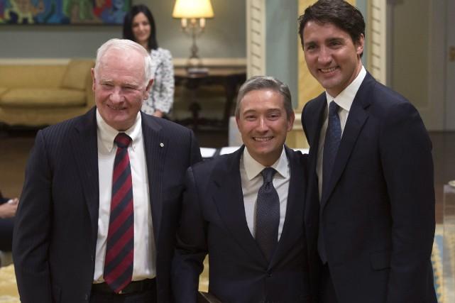 François-Philippe Champagne a été nommé ministre du Commerce... (THE CANADIAN PRESS)