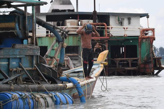 C'est en Indonésie, au large des îles de... (AFP)